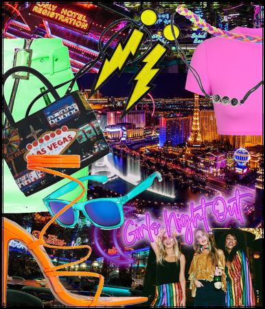 Neon Las Vegas Strip