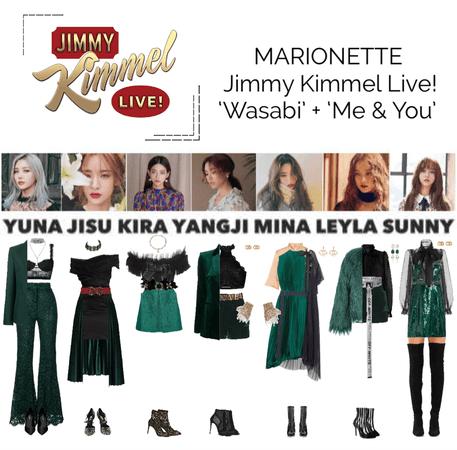 MARIONETTE (마리오네트) Jimmy Kimmel Live!