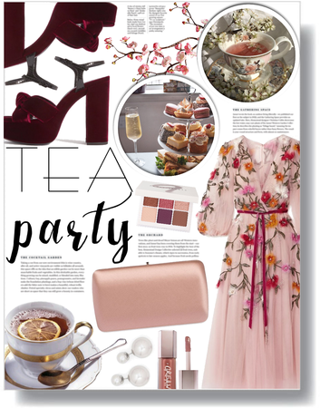 tea party 🌸