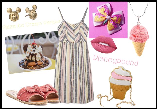 Disneybound Plaza Ice Cream Parlour