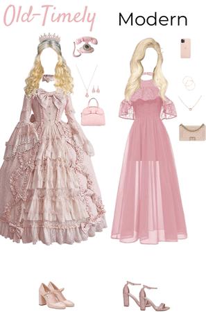 Old-Timely & Modern Princesses