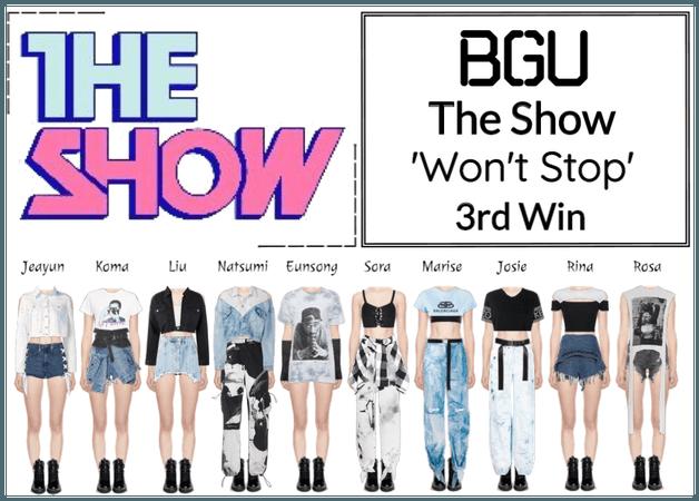 BGU The Show 'Won't Stop'