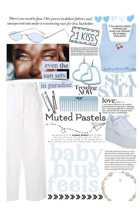 muted pastels: babyblue😇