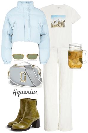 zodiac style | aquarius style