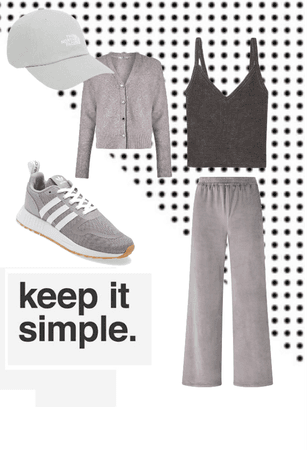 simple and Grey outfit