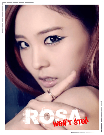"BGU [Rosa] ""Won't Stop"" Concept Photos"