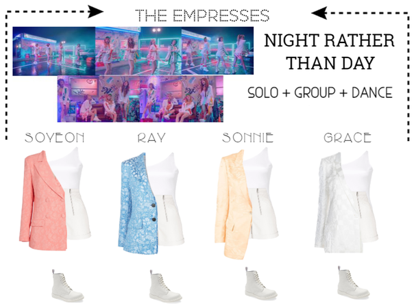 [EMPRESS] 'NIGHT RATHER THAN DAY' SOLO|GROUP|DANCE