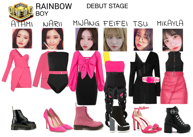 RAINBOW - 'Boy' Debut Stage SBS INKIGAYO