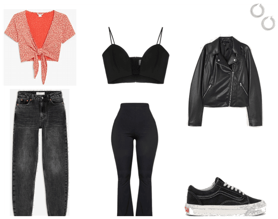 Casual clubbing outfit