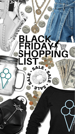 Black Friday list