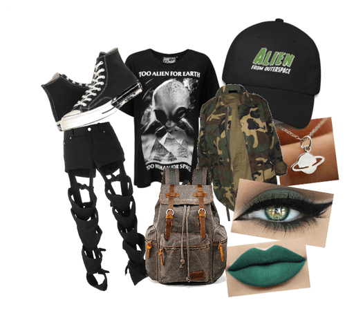 Storm Area 51 Outfit