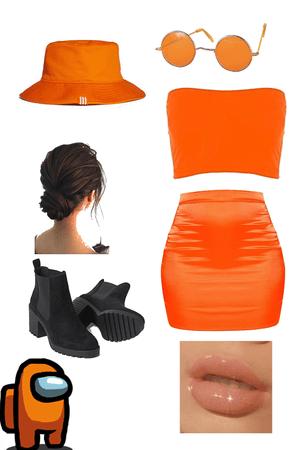 orange vibes 🍑🍑