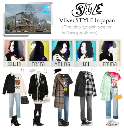 Vlive: STYLE In Japan