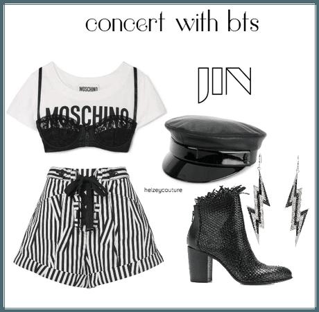 concert w/ bts: jin