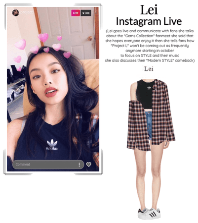 STYLE [Lei] Instagram Live