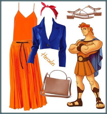 Hercules outfit - Disneybounding - Disney