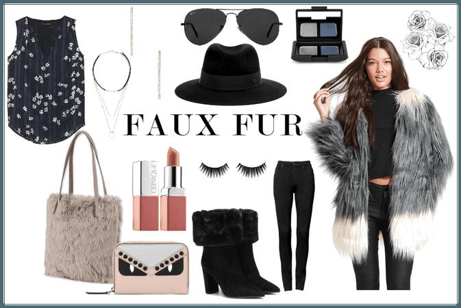 Friday Faux Fur Flirty