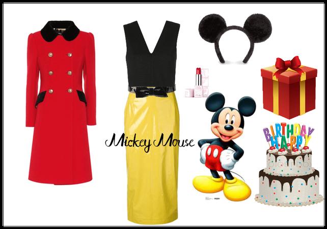 Happy Birthday MICKEY MOUSE :|