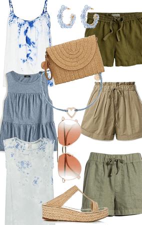 blue & olive summer
