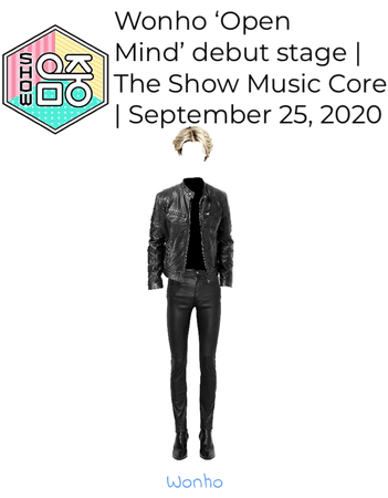 Wonho 'Open Mind' Debut stage The Show Music Core | September 25, 2020