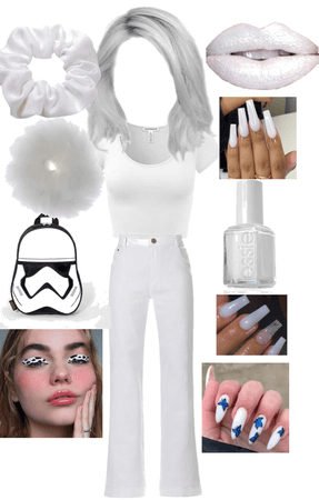 white 👑