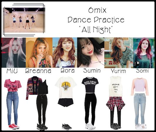 《6mix》'All Night' Dance Practice
