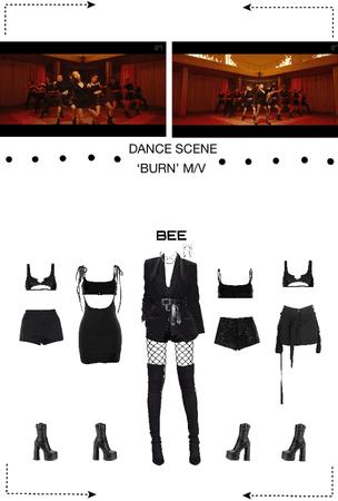 BEE (벌) DANCE SCENE - 'BURN' MV