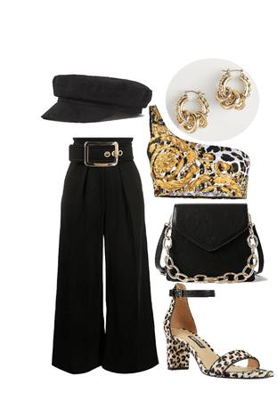 fancy leopard