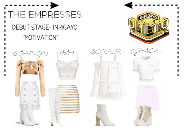 [THE EMPRESSES DEBUT STAGE- INKIGAYO