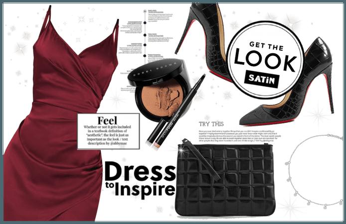 2020 Trend : Satin Slip Dress