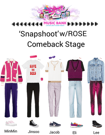 Zus// 'Snapshoot' w/ROSE Music Bank Comeback Stage