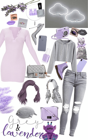 ~Grey and Lavender~
