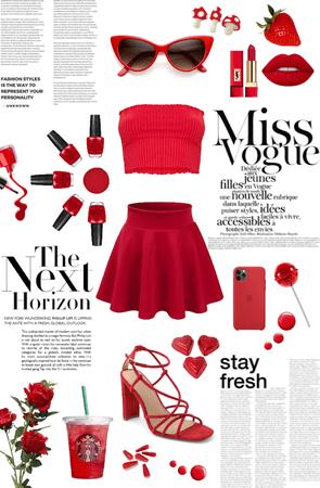 Fancy Red Fit