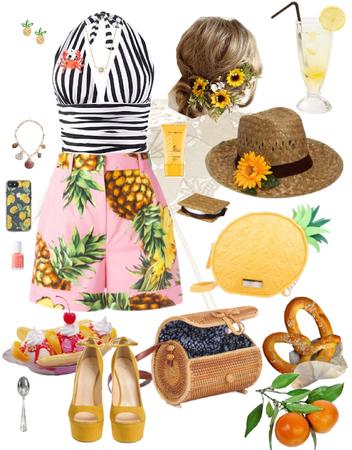 Yellow Pineapple Summer