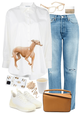 stylish and comfortable outfit