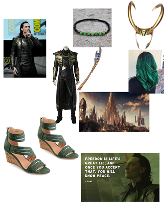 Loki God of Mischief Outfit