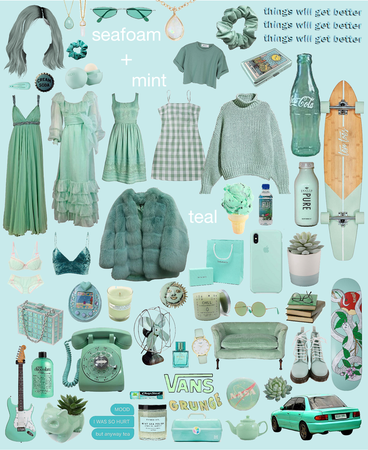 Seafoam/Teal/Mint