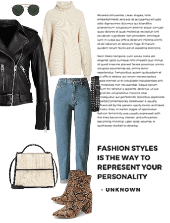 How to style your leather jacket