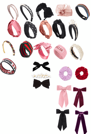 hair accessories collection