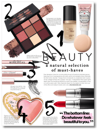 My Beauty Must Haves
