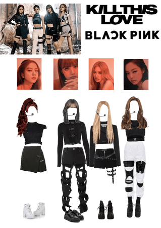 Blackpink Kill this Love Stage Outfit