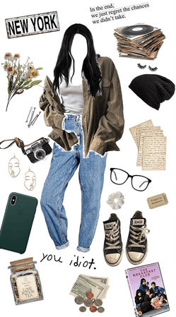 Cute vintage aesthetic outfit