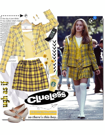 clueless yellow 💛