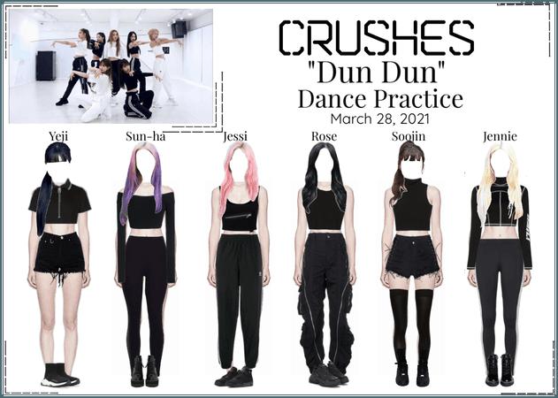 """Crushes (호감) """"Dun Dun"""" Dance Practice"""