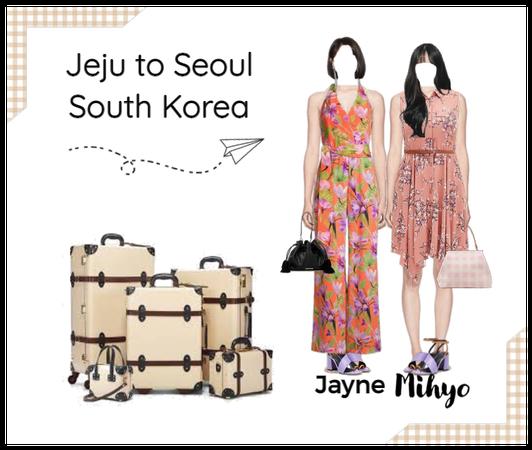 MiJay Jeju Island to Seoul Airport Looks