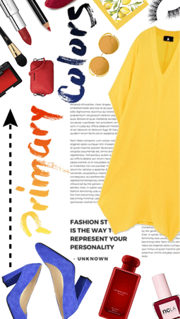 Primary Colors Explosion