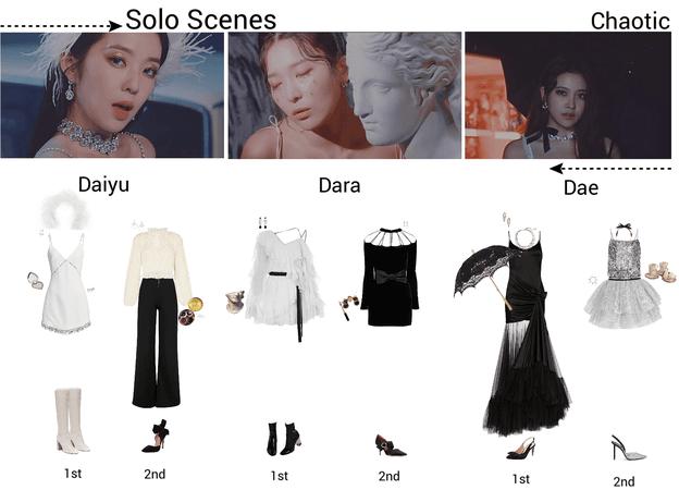 {3D} 'Chaotic' Solo Scenes