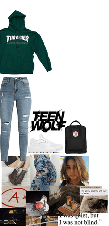 TEEN WOLF: in the woods with Stiles and Scott