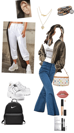 casual and comfy either ways ready