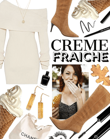 SUMMER 2020: Creme Fraiche (Ice Cream Social Style)
